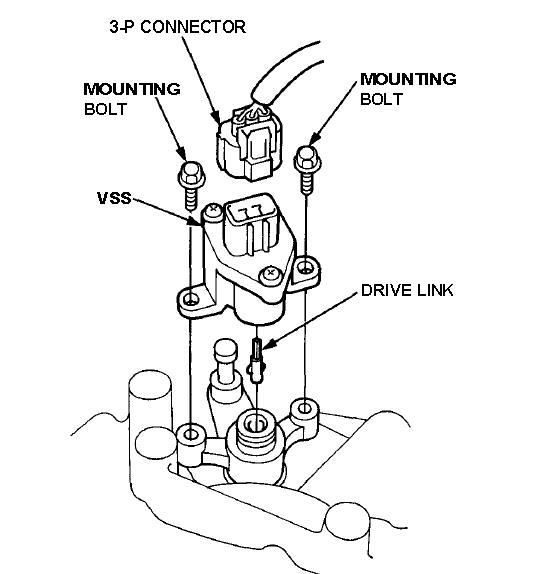 sensor de velocidad accord 95
